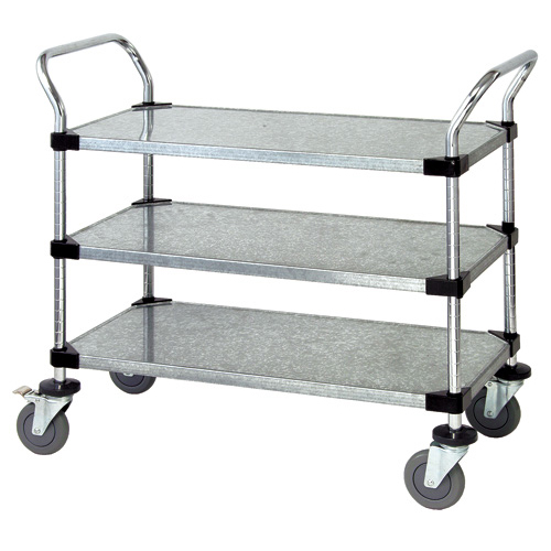 Quantum Foodservice WRSC-2448-3SS cart, bussing utility transport