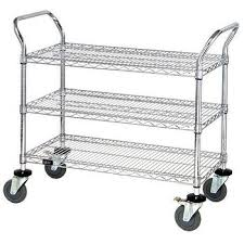 Quantum Foodservice WRC-1836GY-3 cart, bussing utility transport
