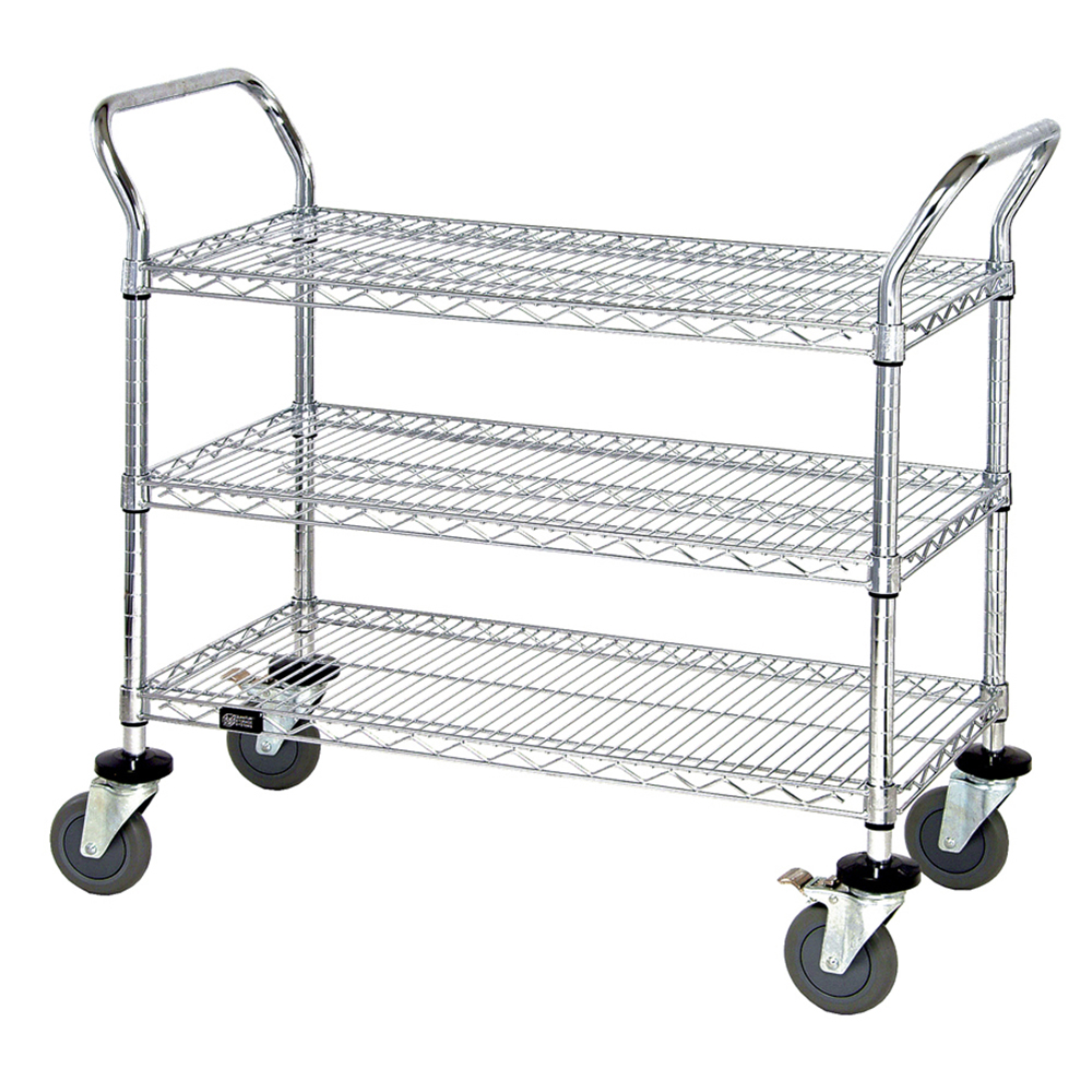 Quantum Foodservice WRC-1842-3 cart, bussing utility transport