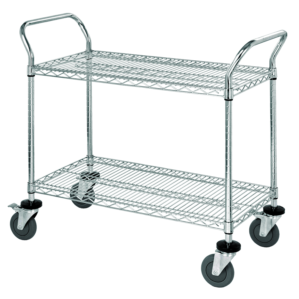 Quantum Foodservice WRC-2436-2 cart, bussing utility transport