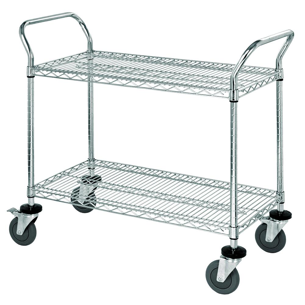 Quantum Foodservice WRC-2442-2 cart, bussing utility transport