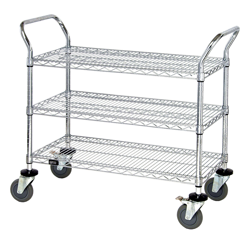Quantum Foodservice WRC-2442-3 cart, bussing utility transport