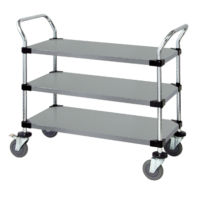 Quantum Foodservice WRSC-1836-3SS cart, bussing utility transport