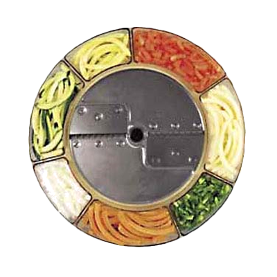 Robot Coupe 27067 food processor, disc plate, slicing