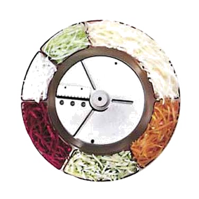 Robot Coupe 27080 food processor, disc plate, slicing