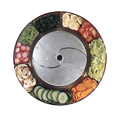 Robot Coupe 28062 food processor, disc plate, slicing