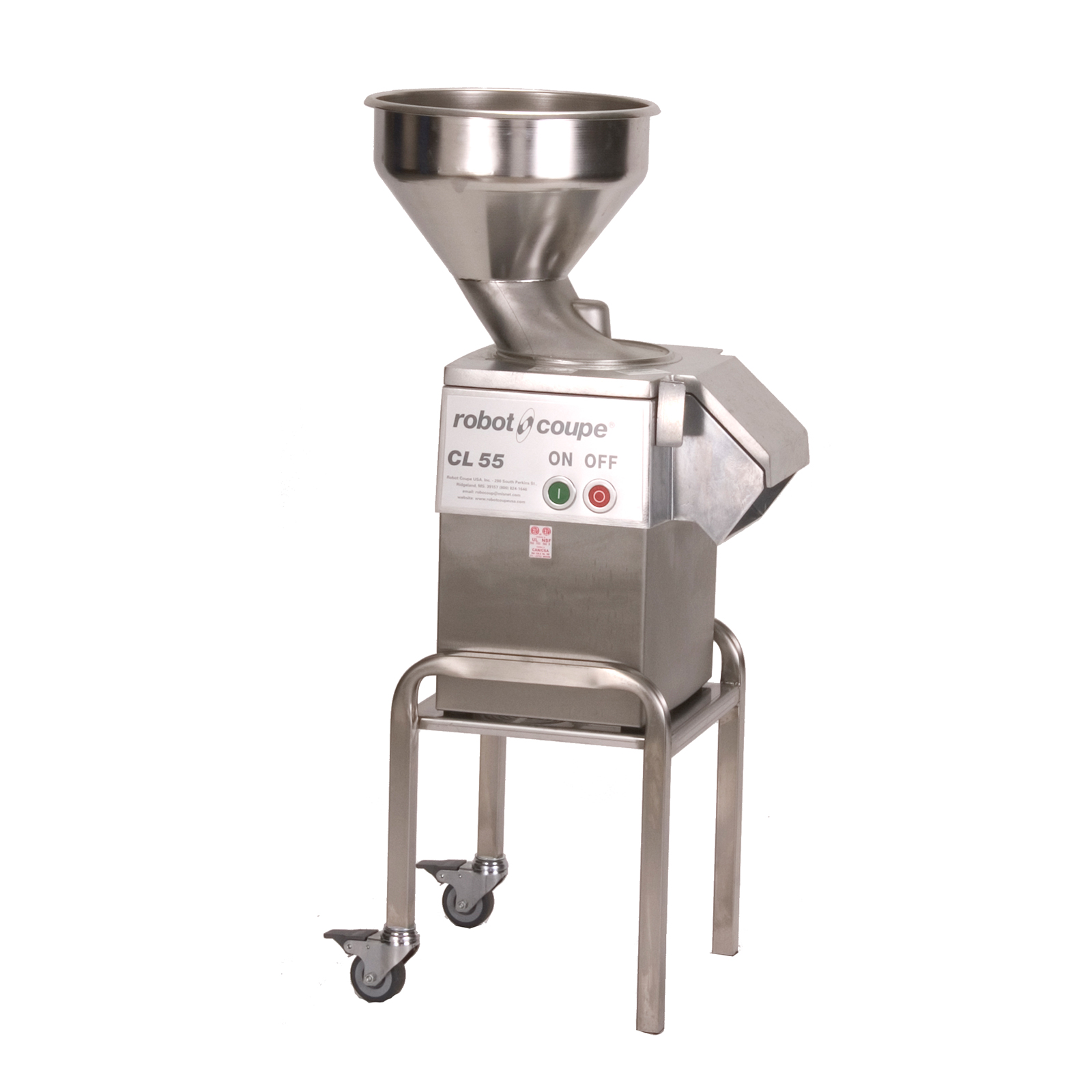 Robot Coupe CL55 BULK W/STAND food processor, floor model