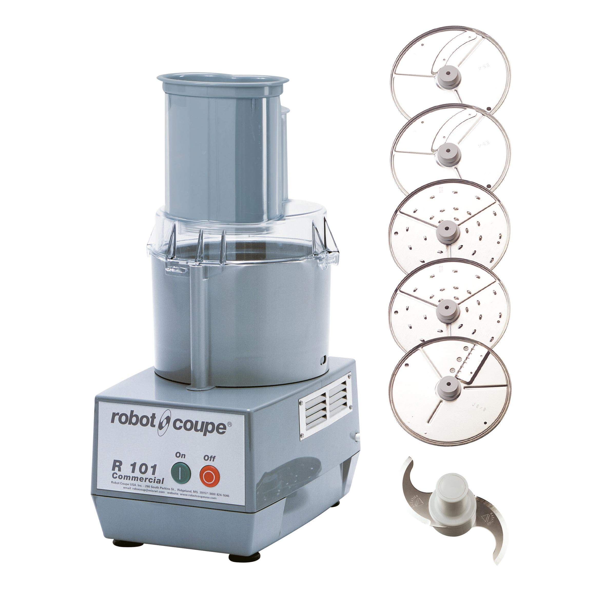 Robot Coupe R101P food processor, benchtop / countertop