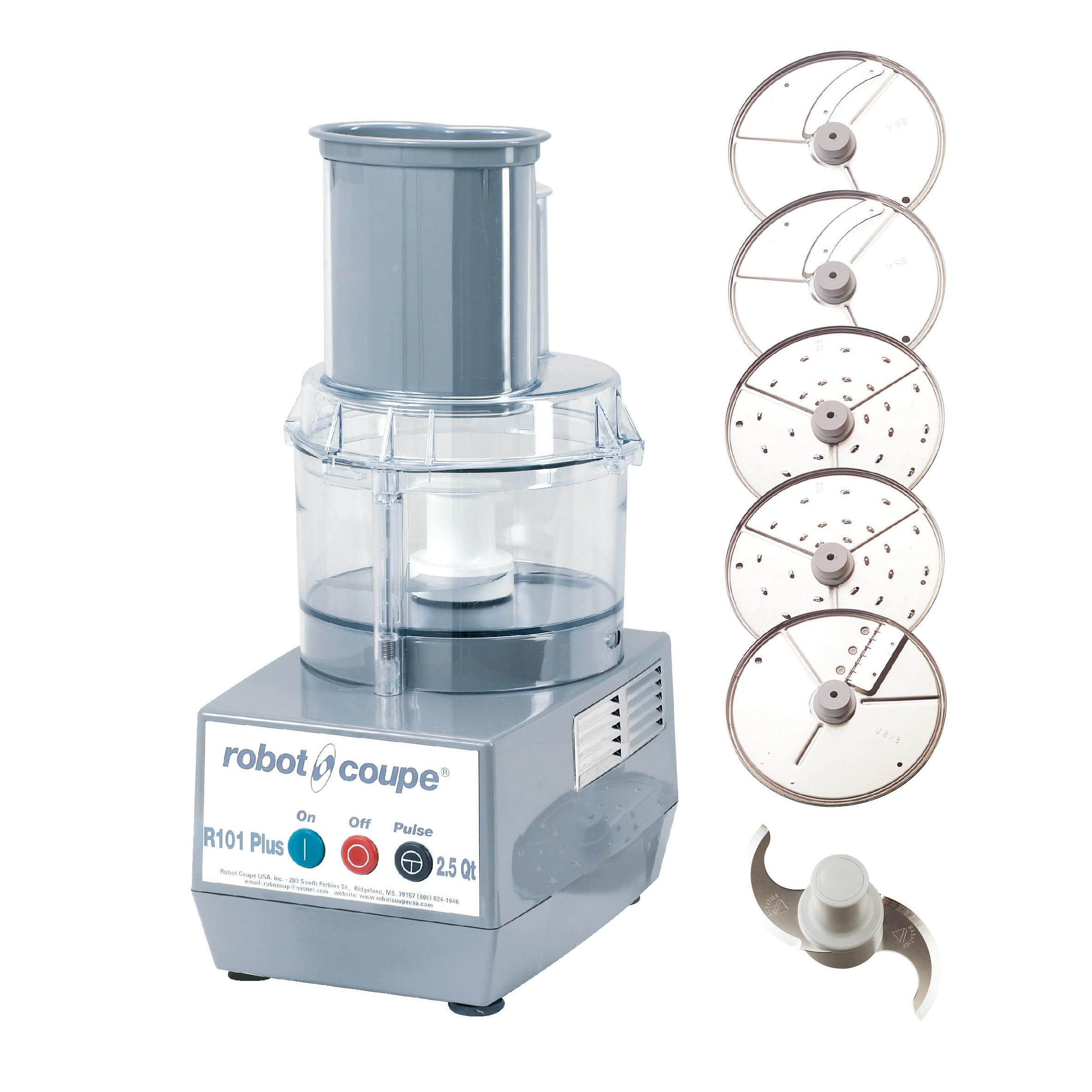 Robot Coupe R101P PLUS food processor, benchtop / countertop