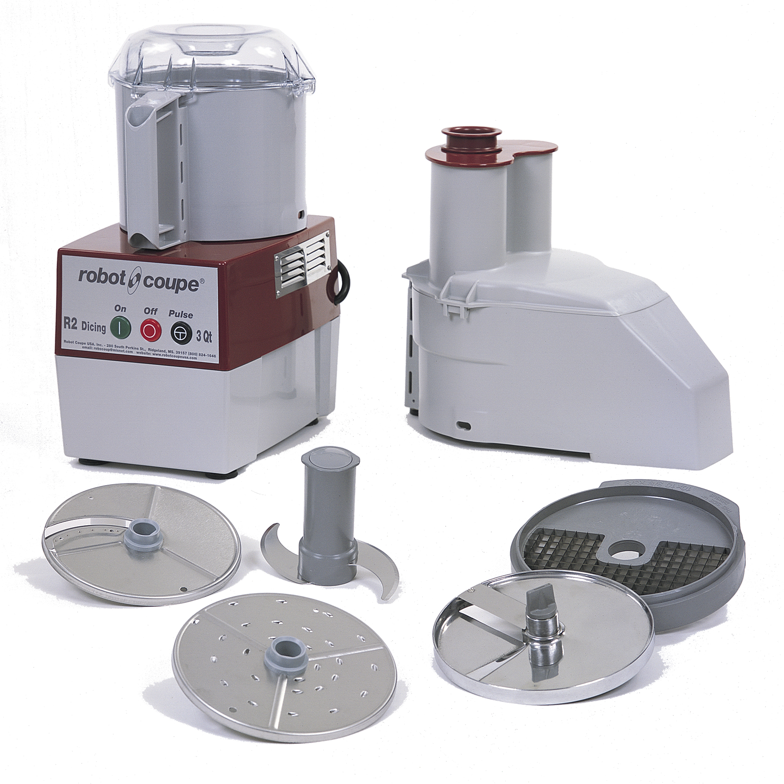 Robot Coupe R2 DICE food processor, benchtop / countertop