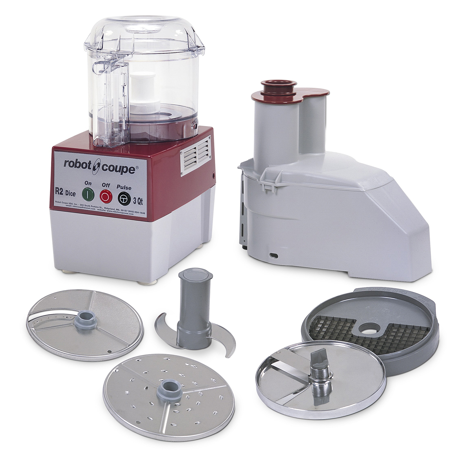Robot Coupe R2 DICE CLR food processor, benchtop / countertop