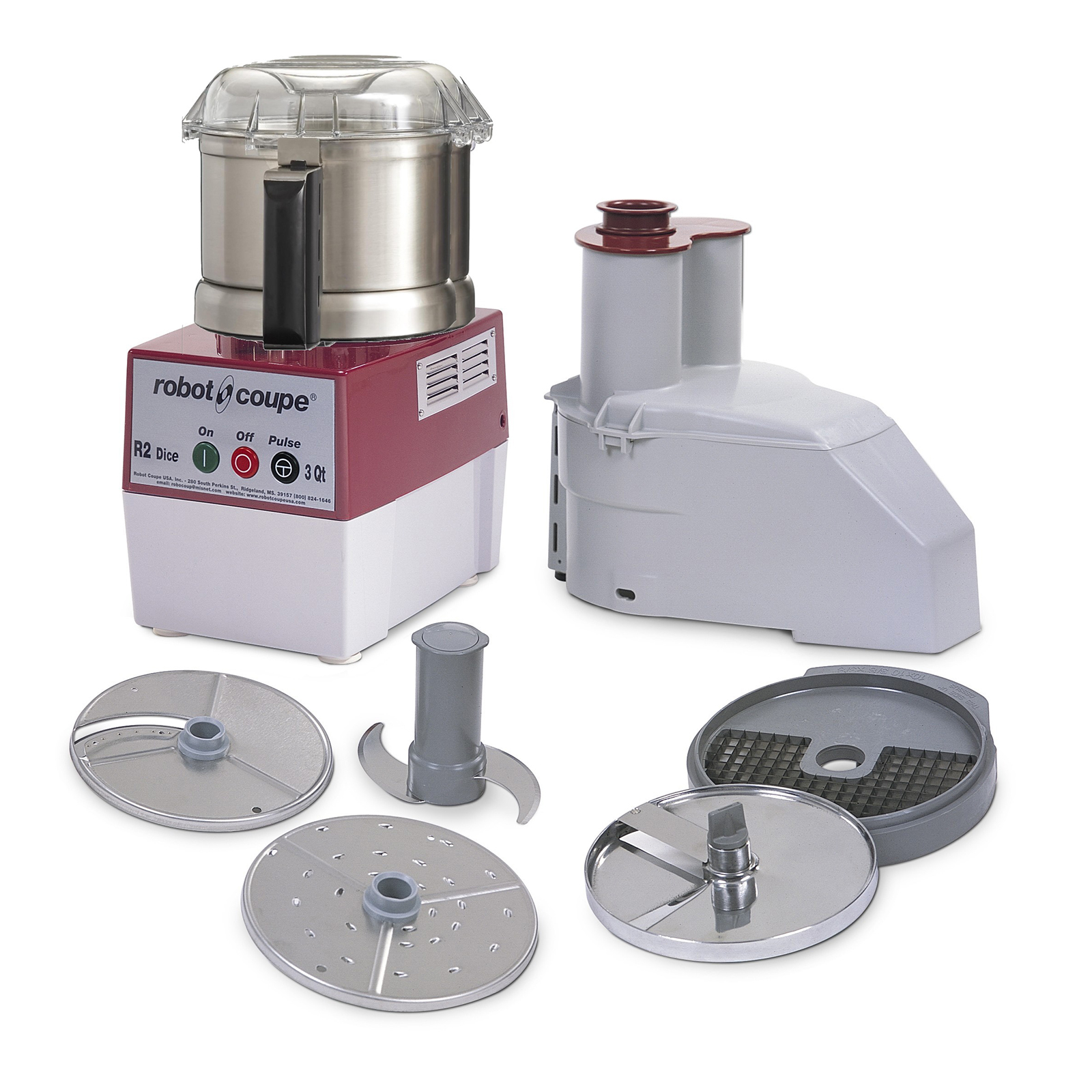 Robot Coupe R2 DICE ULTRA food processor, benchtop / countertop