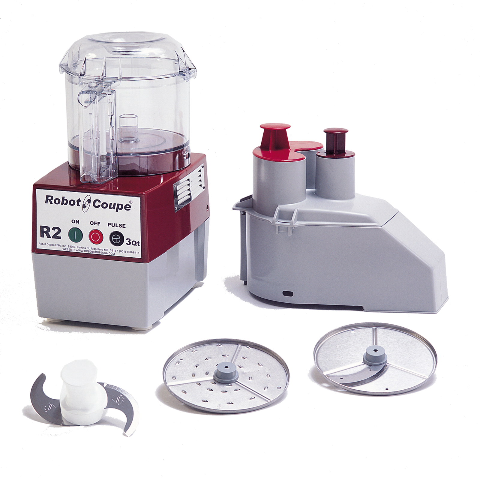 R2N CLR Robot Coupe food processor, benchtop / countertop