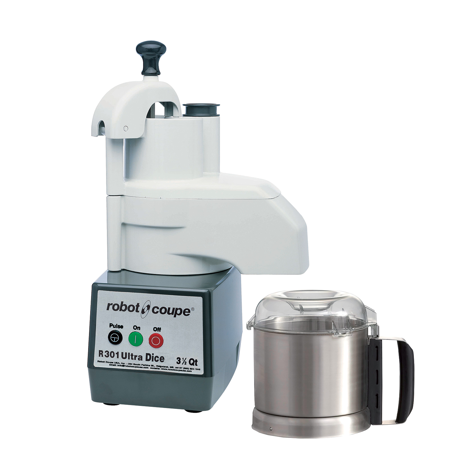Robot Coupe R301 DICE ULTRA food processor, benchtop / countertop