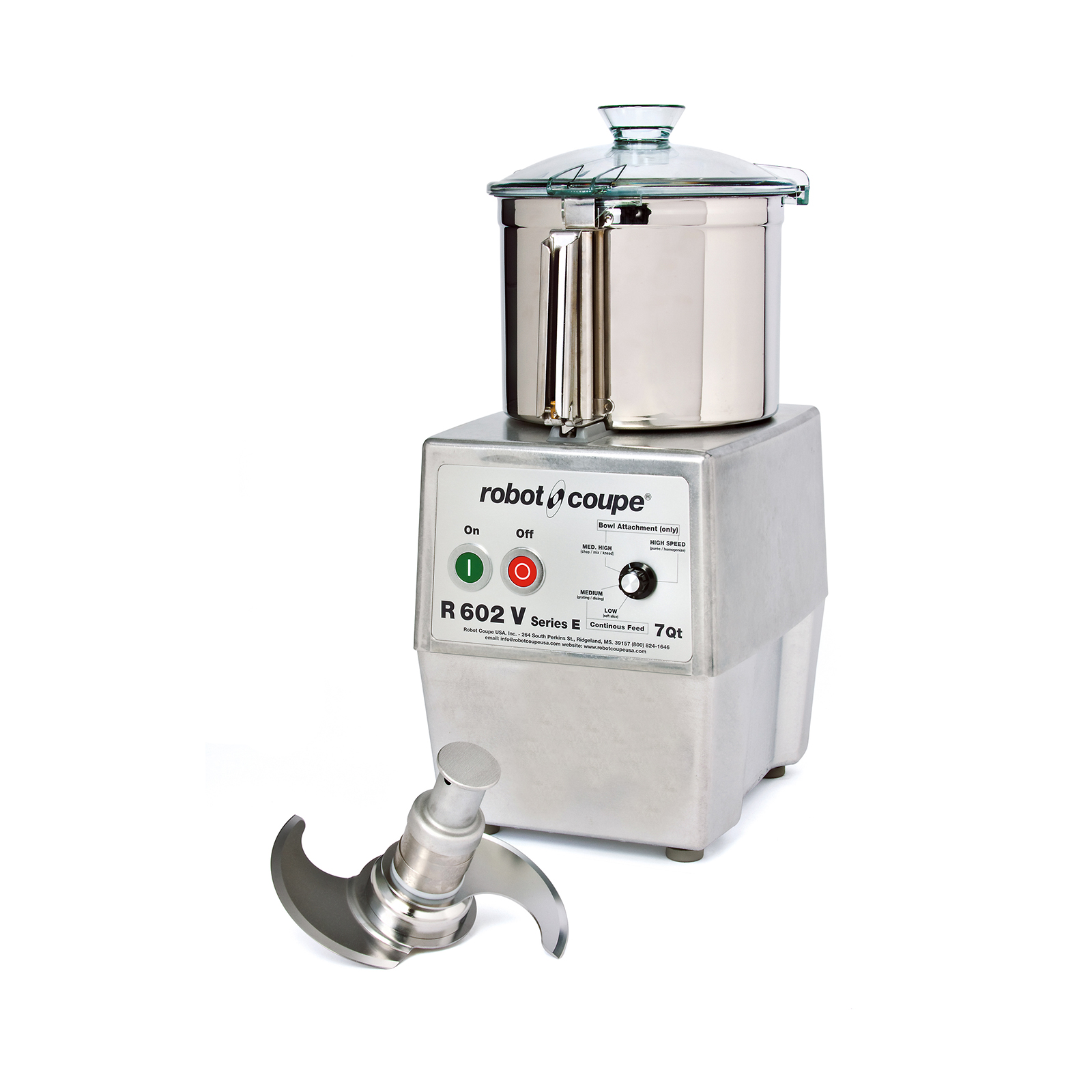 Robot Coupe R602 VV B food processor, benchtop / countertop