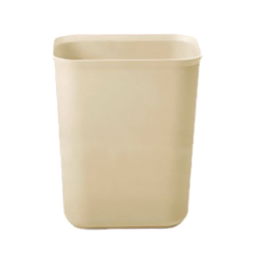 Rubbermaid Commercial Products FG254000BEIG waste basket, plastic