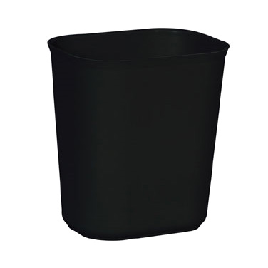 Rubbermaid Commercial Products FG254100BLA waste basket, plastic