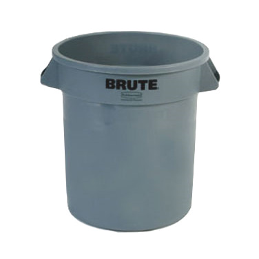 Rubbermaid Commercial Products FG261000GRAY trash can / container, commercial