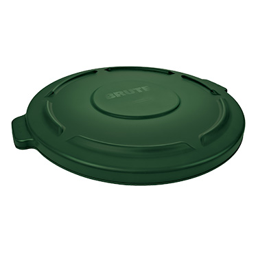 Rubbermaid Commercial Products FG263100DGRN trash receptacle lid / top