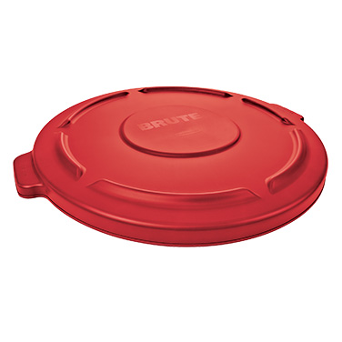 Rubbermaid Commercial Products FG263100RED trash receptacle lid / top