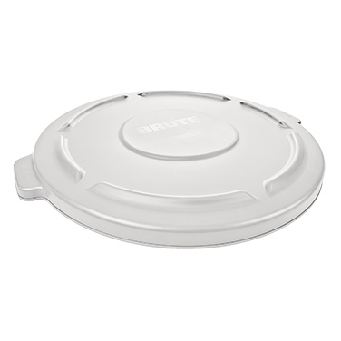 Rubbermaid Commercial Products FG263100WHT trash receptacle lid / top