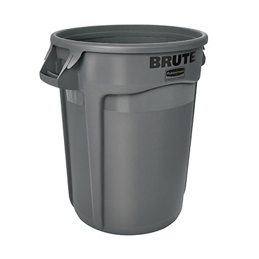 Rubbermaid Commercial Products FG263200GRAY trash can / container, commercial