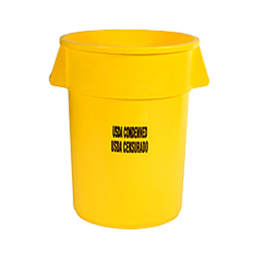 Rubbermaid Commercial Products FG264346YEL trash can / container, commercial