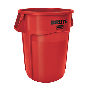Rubbermaid Commercial Products FG264360RED trash can / container, commercial