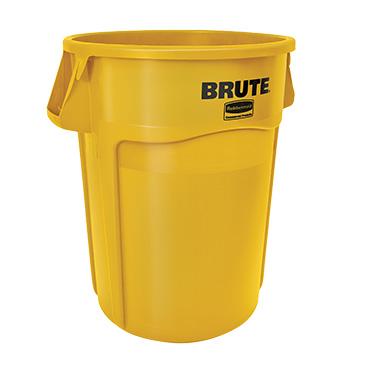 Rubbermaid Commercial Products FG264360YEL trash can / container, commercial