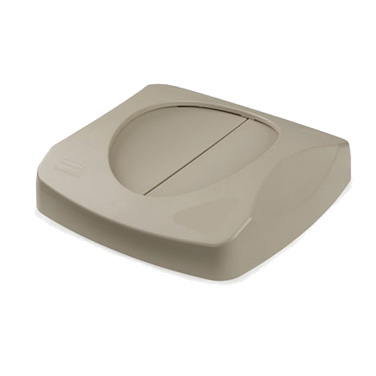 Rubbermaid Commercial Products FG268988BEIG trash receptacle lid / top