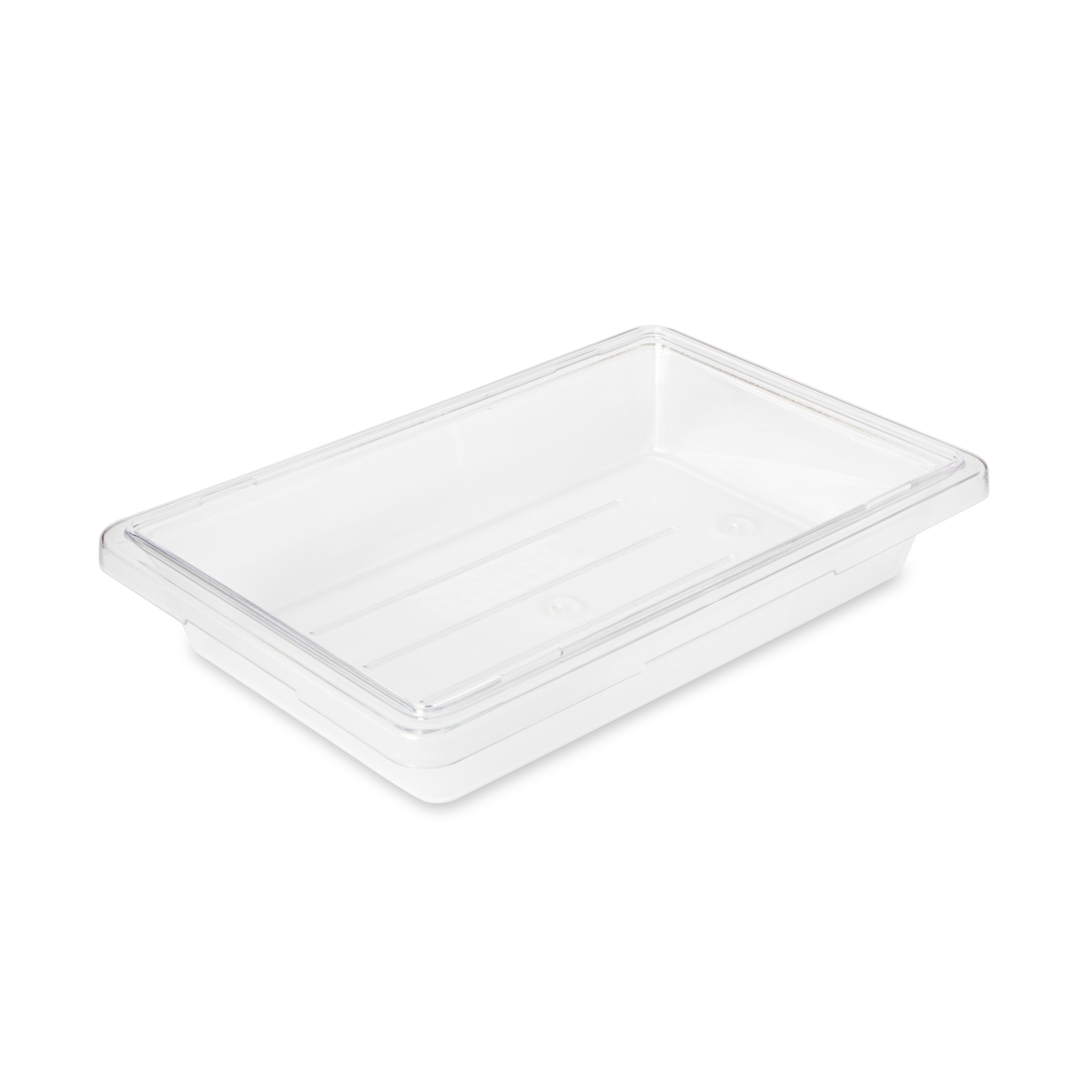 Rubbermaid Commercial Products FG330700CLR food storage container, box