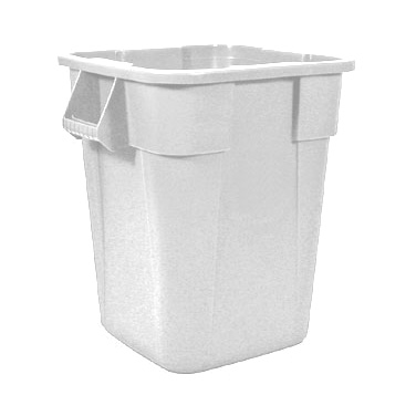 Rubbermaid Commercial Products FG353600WHT trash can / container, commercial