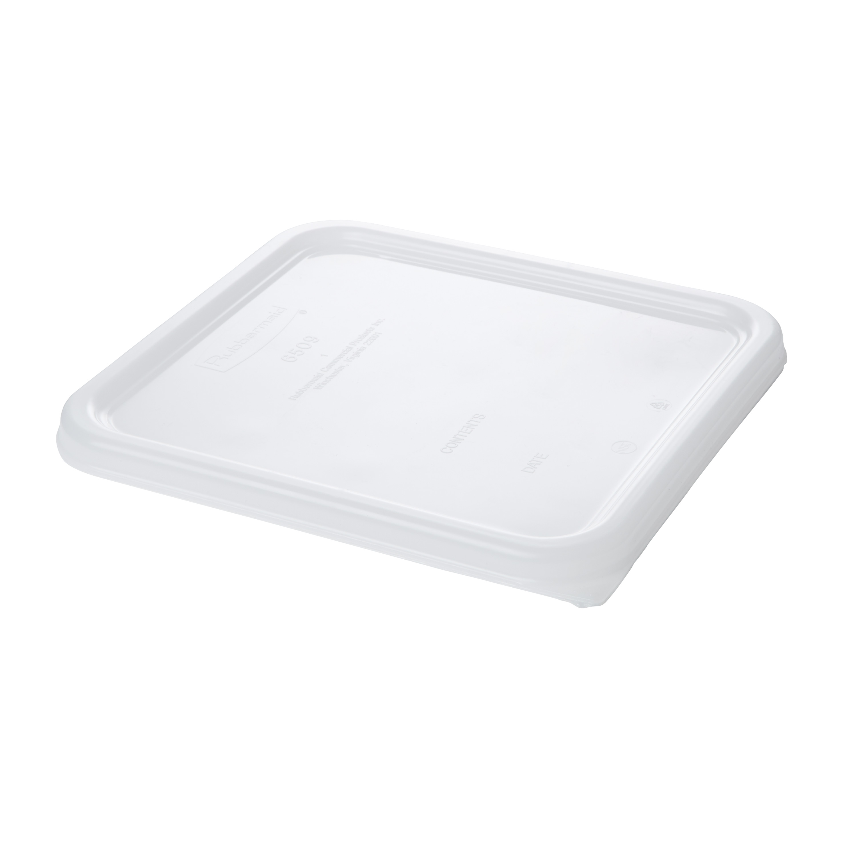 Rubbermaid Commercial Products FG650900WHT food storage container cover