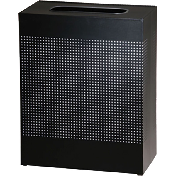 Rubbermaid Commercial Products FGSC22EPLTBK trash receptacle, indoor