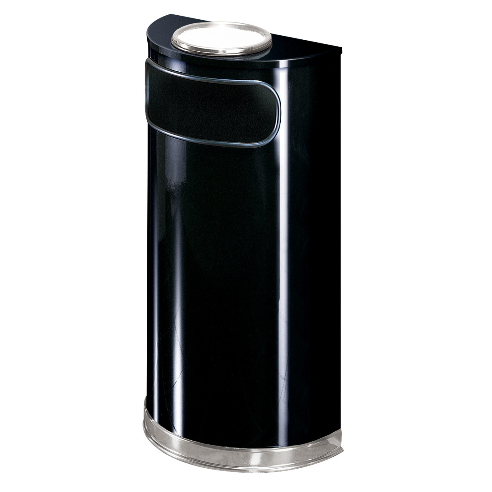 Rubbermaid Commercial Products FGSO8SU20PLBK ash tray receptacle