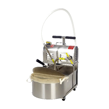 R. F. Hunter HF 165C fryer filter, mobile