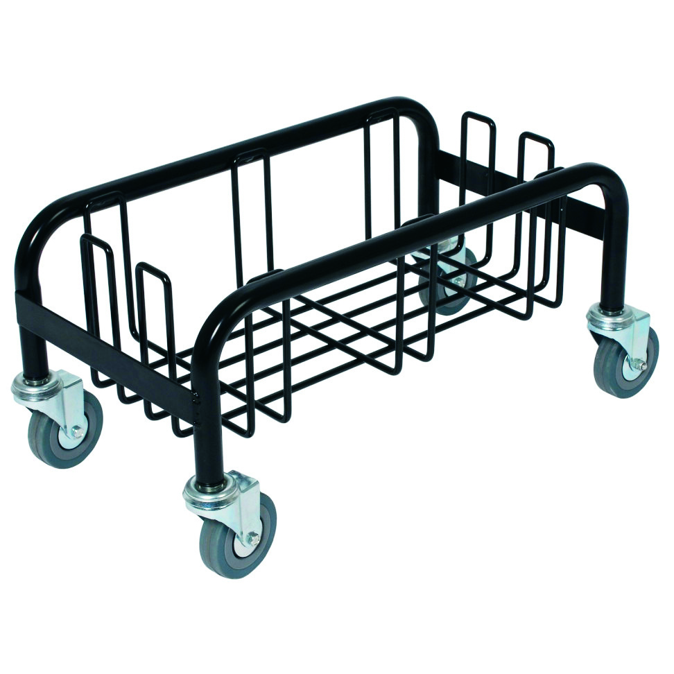 Royal Industries CCP 8320 trash receptacle, dolly