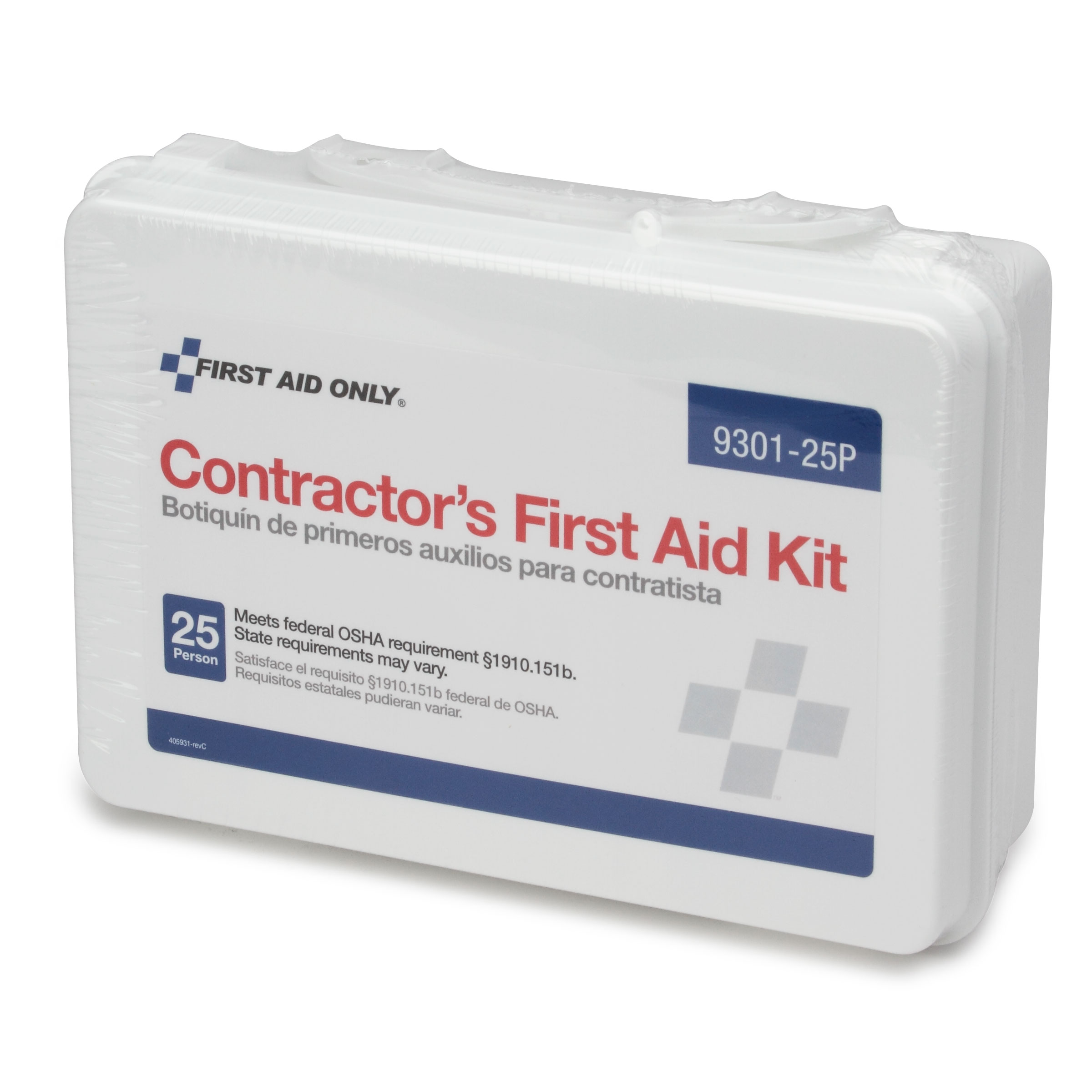 Royal Industries FAK 25 P first aid supplies