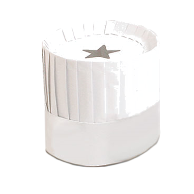 Royal Industries PPR HAT 7 disposable chef's hat