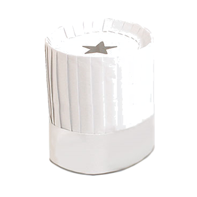 Royal Industries PPR HAT 9 disposable chef's hat
