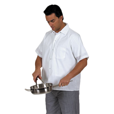 Royal Industries RKS 501 S cook's shirt