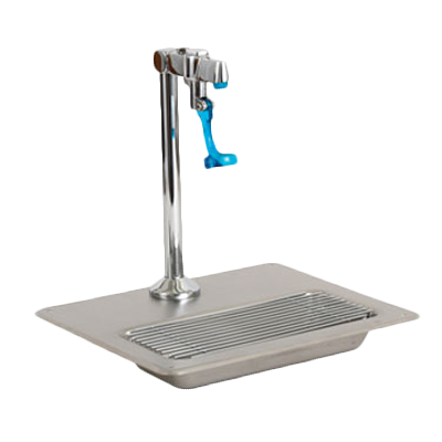 Royal Industries ROY 304 WS glass filler station with drain pan