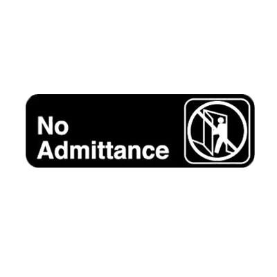 Royal Industries ROY 394507 sign, compliance