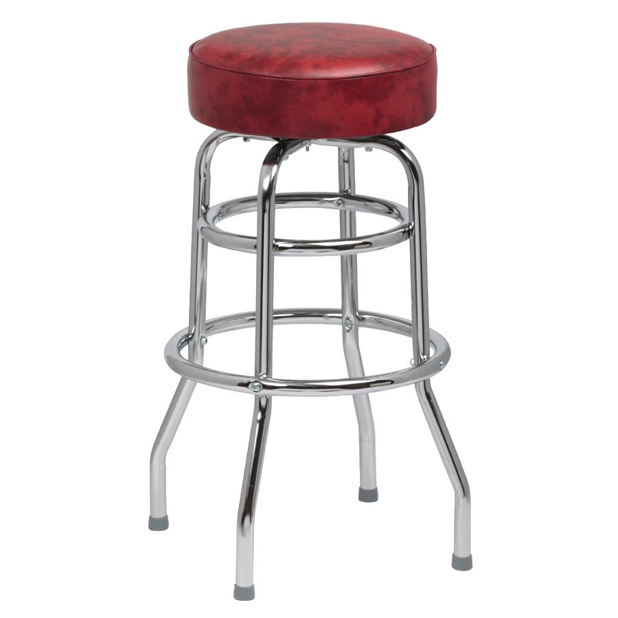 Royal Industries ROY 7712 CRM bar stool, swivel, indoor