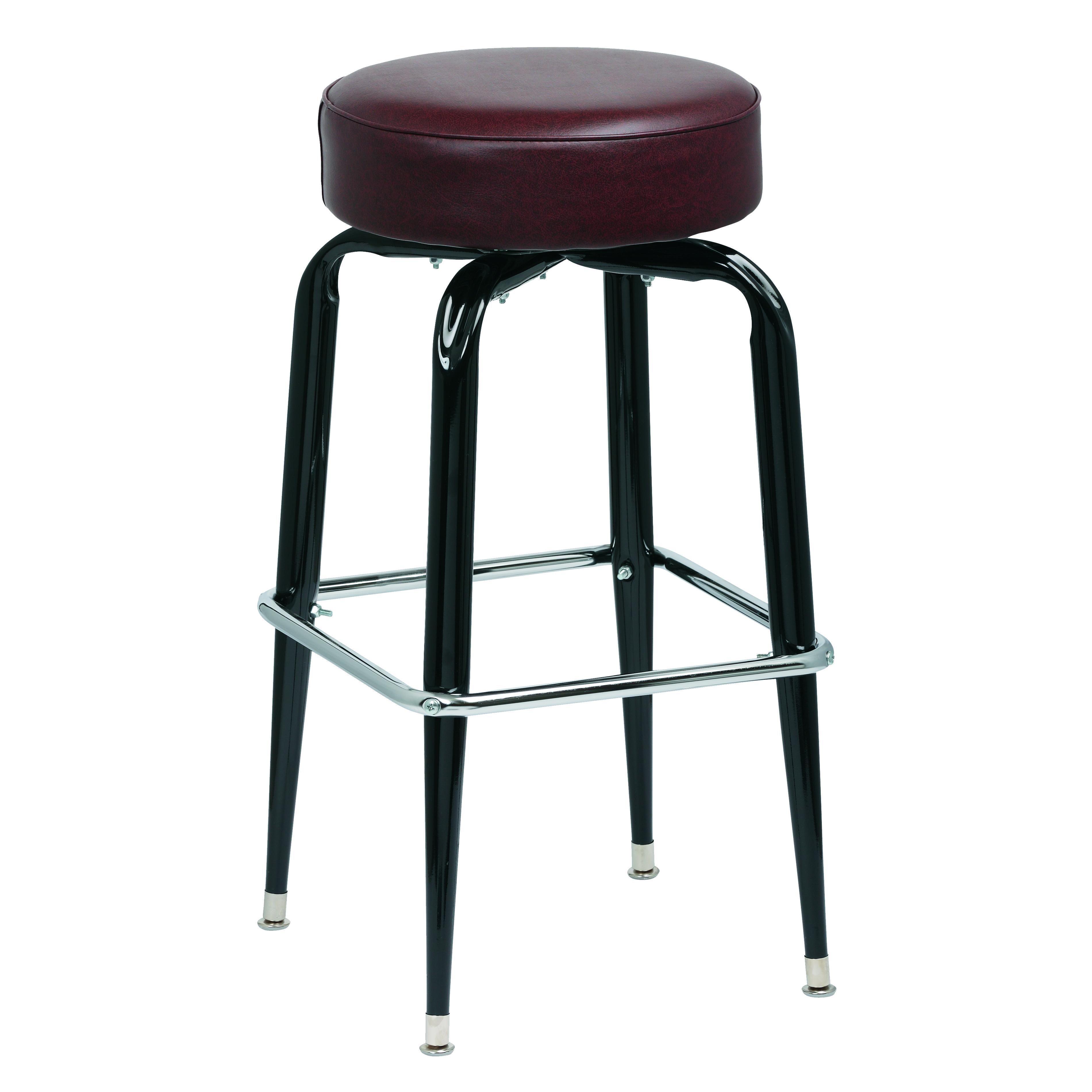 Royal Industries ROY 7723 BRN bar stool, swivel, indoor