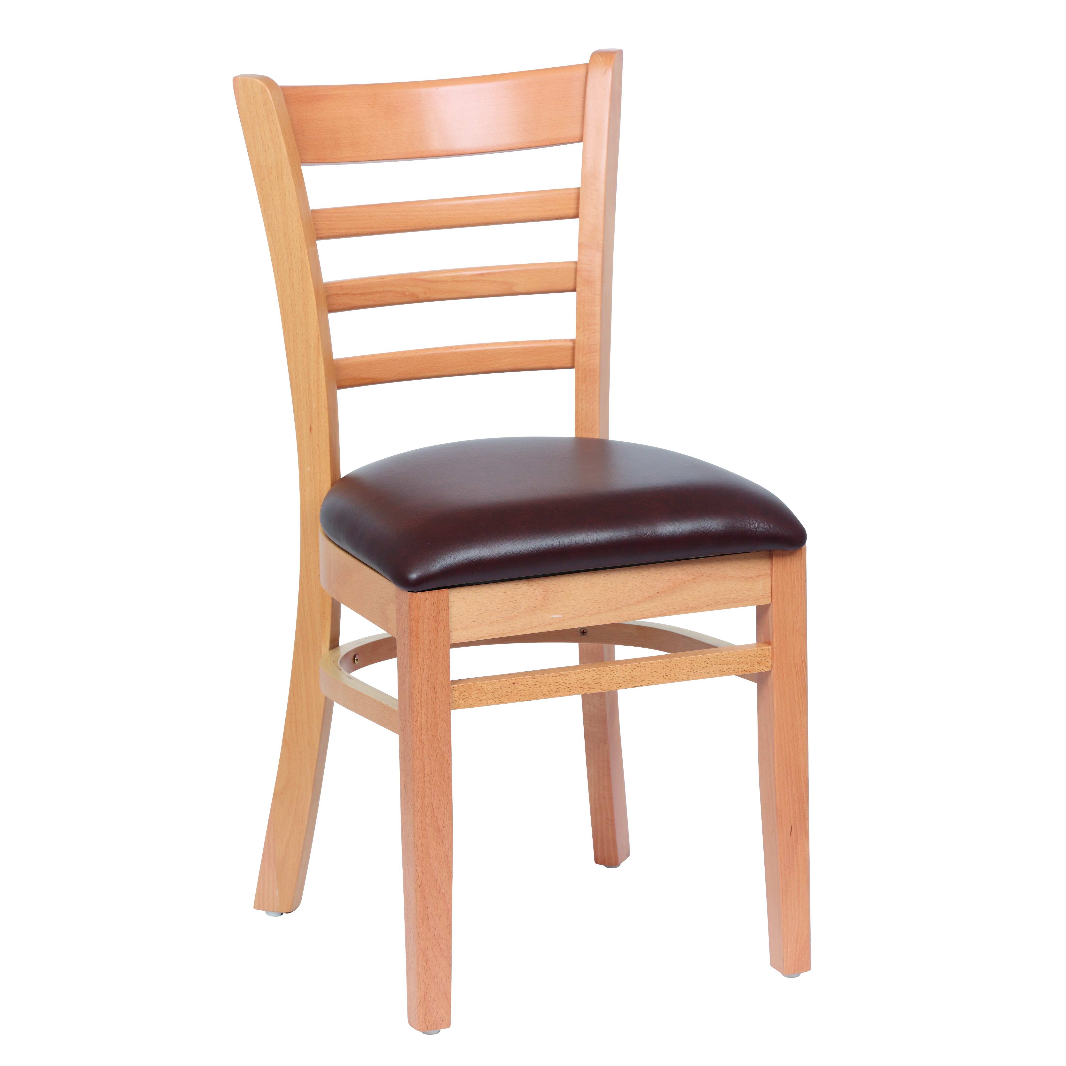 Royal Industries ROY 8001 N BRN chair, side, indoor