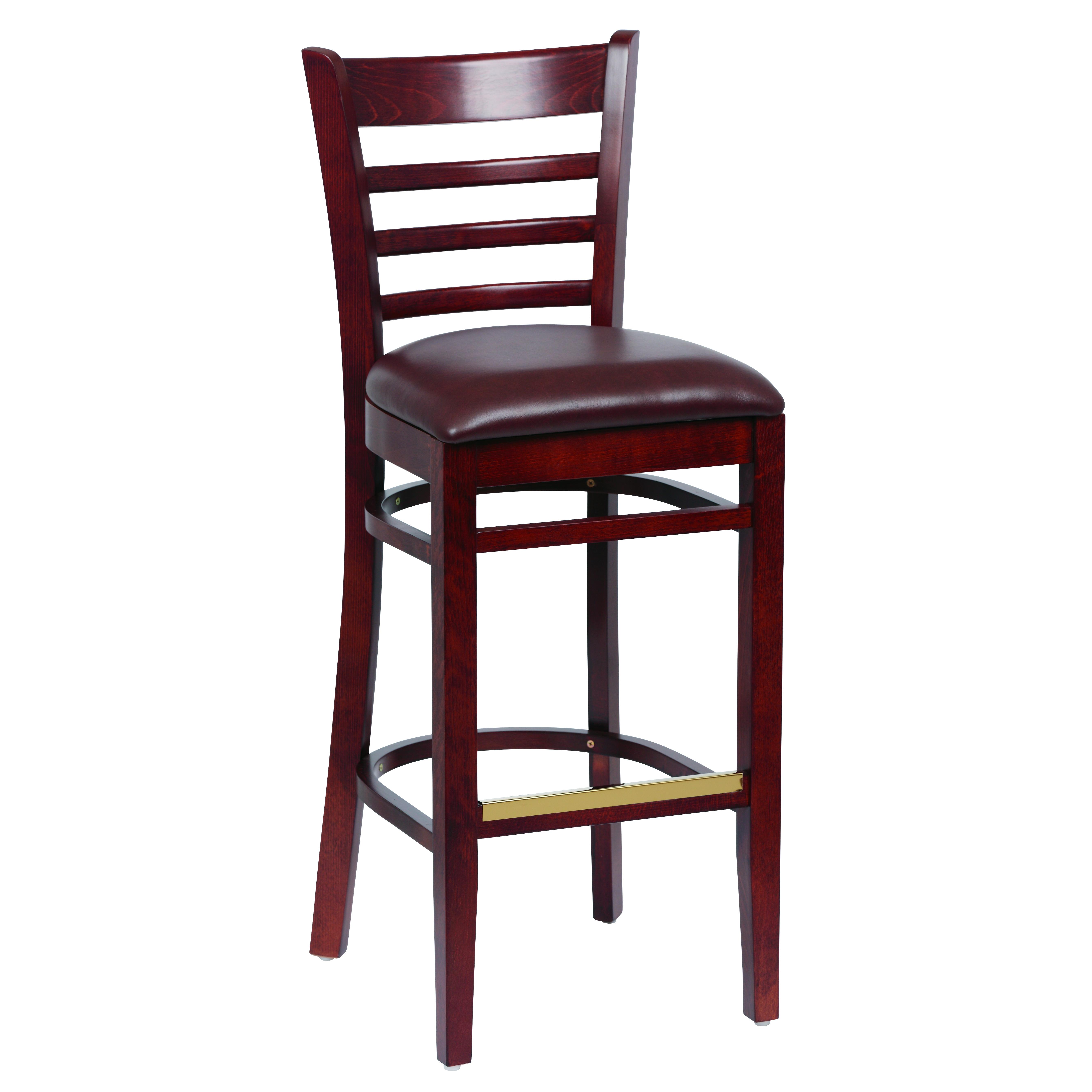 Royal Industries ROY 8002 W BRN bar stool, indoor