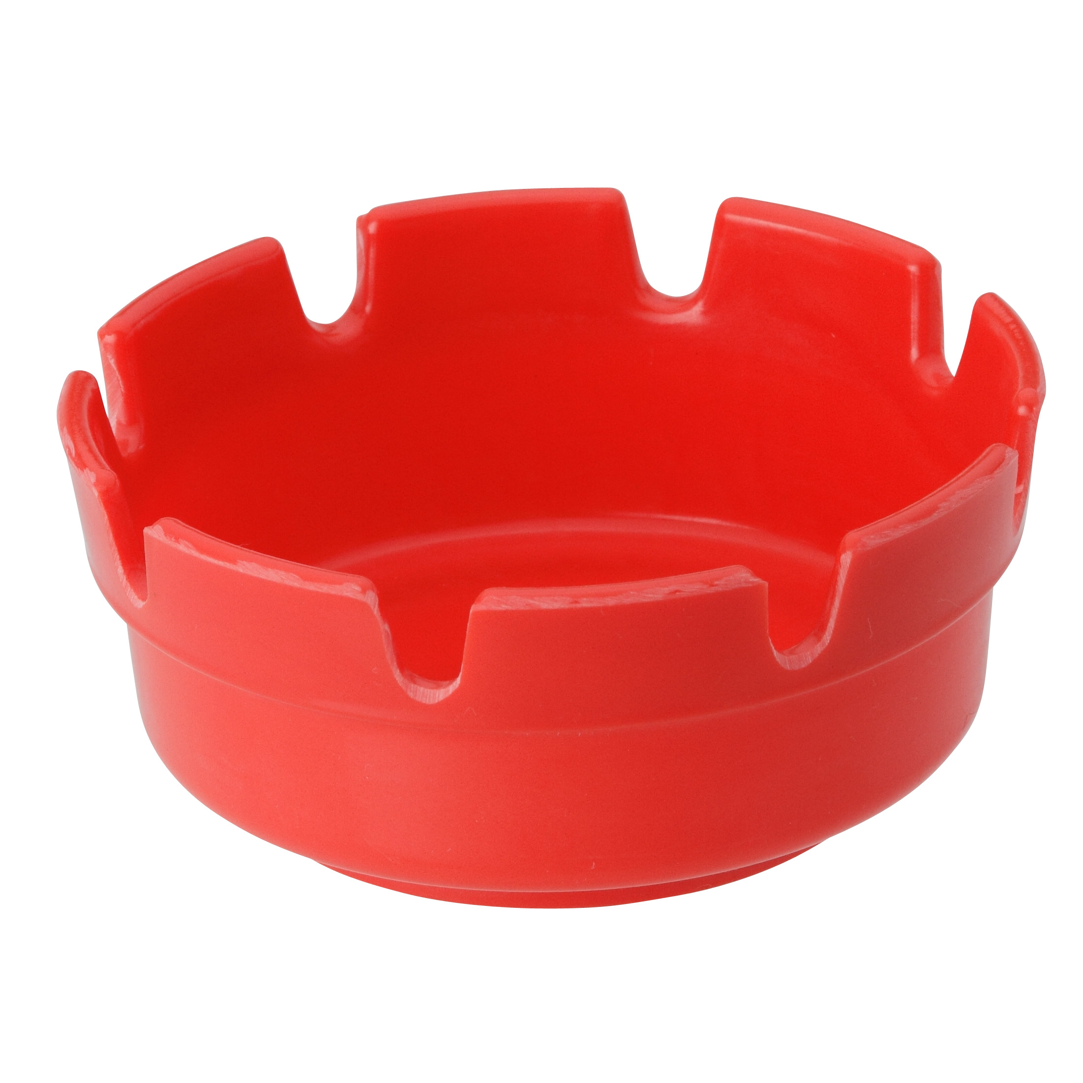 Royal Industries ROY ASH 263 RED ash tray, plastic