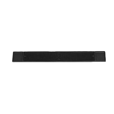 Royal Industries ROY BARMAT BLK bar mat