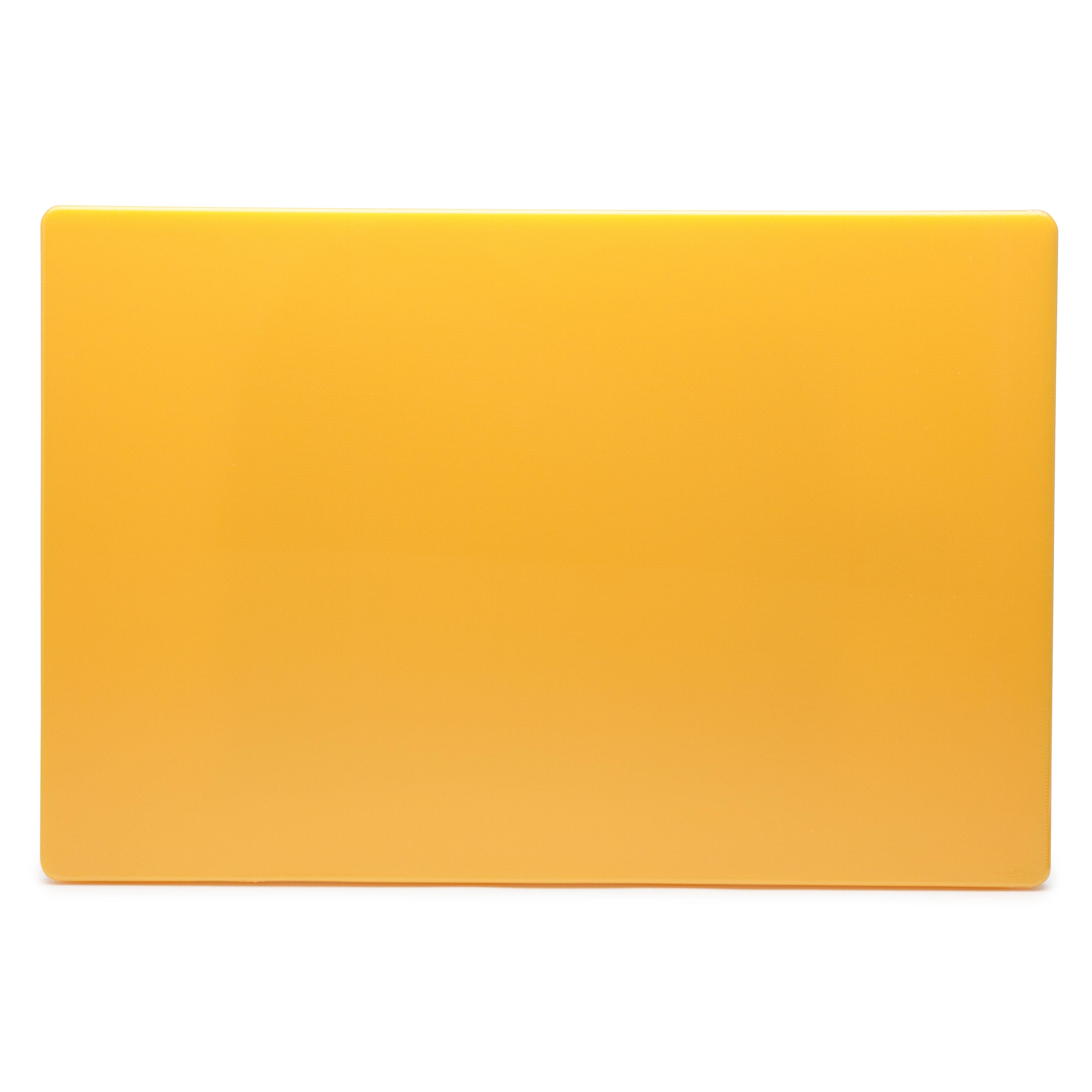 Royal Industries ROY CB 1218 Y cutting board, plastic